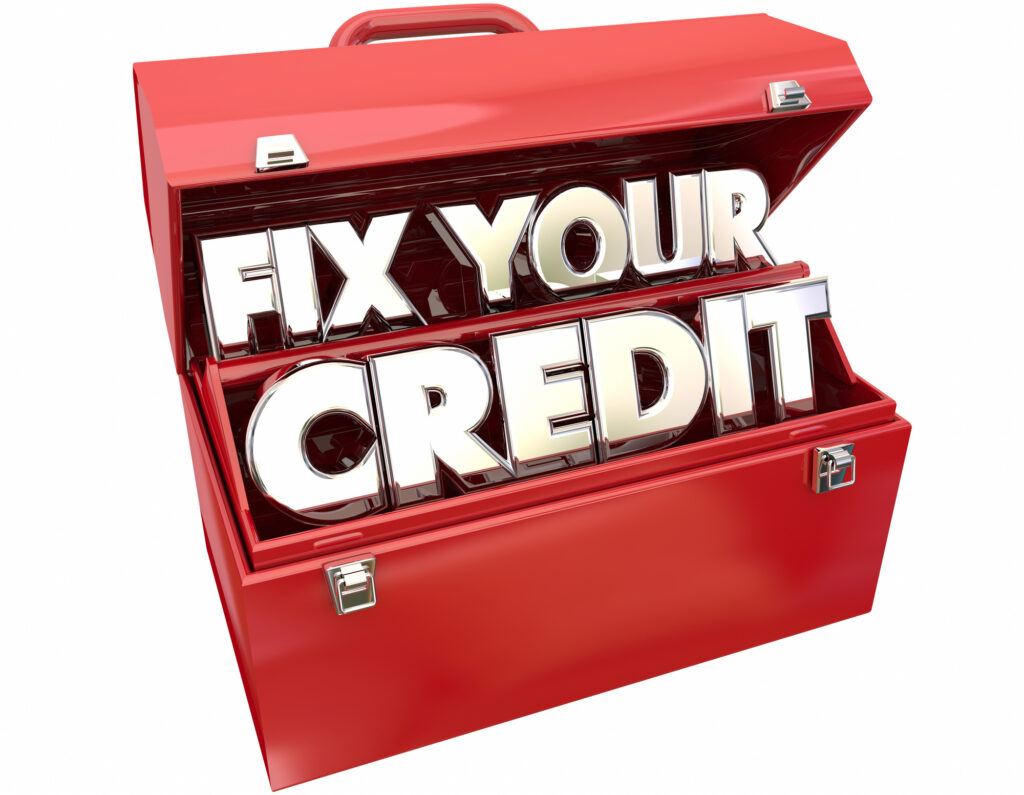 how long does it take to repair credit